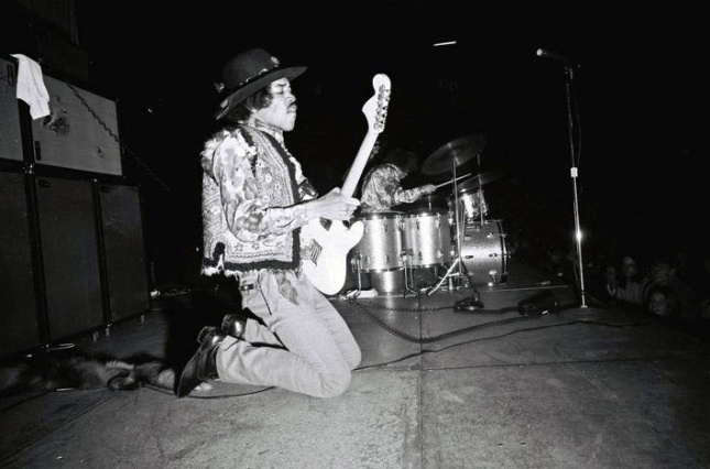 Feb 24, 1968 - Toronto, CANADA - JIMI HENDRIX performing at the CNE Coliseum...